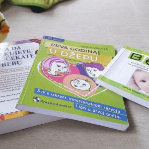 korisne praktične knjige o trudnoći i roditeljstvu