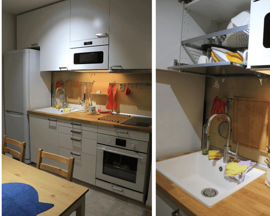 kuhinjski elementi sudopera ocedjivac za sudove cesma aspirator mikrotalasna ugradna ploca rerna radna ploca