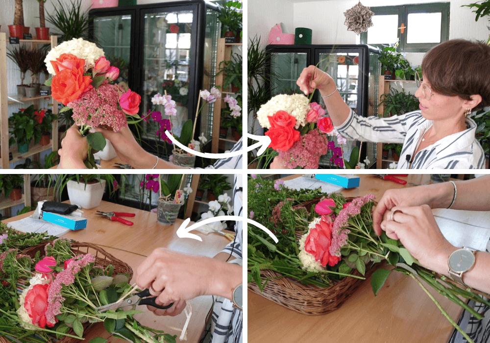 buket od svezeg cveca buketcveca slika cvetni aranzman cvetni aranzman ideja bastenskocvece sastavljanje buketa izrada buketa
